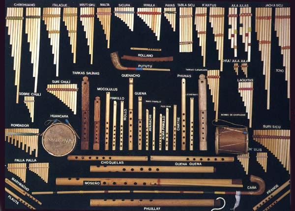"Instrumentos Andinos | Agrupación Cultural ""Maipo Indómito"""